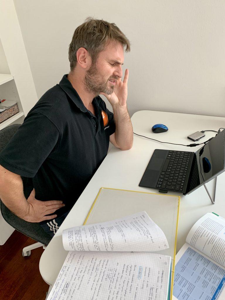 Büroschmerzen